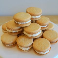 Brown Sugar Shortbreads with Bailey's Crème (Boozy Girl Guide Cookies)