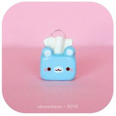 Bear tissue box! #claycharms