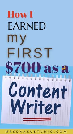 Want to become a content writer or looking for content writing jobs that pay well? Work from home in content writing is easy to start with and this video on how I got my 1st content writing job will help you out to make money from home. Make Money From Home, Make Money Online, How To Make Money, How To Become, Freelance Writing Jobs, Writing Tips, I Got This, Writer, Finding Yourself