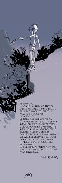 #Makkox - Il burrone