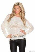 Dierkovaný sveter