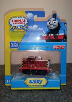 1 Fisher-Price Thomas /& Friends Wooden Railway Light Up Sidneys Holiday Special