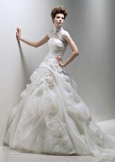 http://weddinginspirasi.com/2011/02/08/enzoani-2011-bridal-collection-wedding-dresses/ Enzoani ferryn wedding dress #weddings #weddingdress #bridal #ballgown #dress #wedding