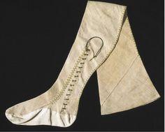 Silk stocking belonging to Queen Elizabeth I (1566)