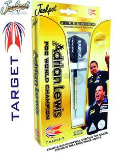 Darts - 25g Steel Tip Tungsten Darts - Target - Zirconium - Adrian Lewis - Jackpot - 25g Golden - http://www.dartscorner.co.uk/product_info.php?cPath=9_217_1192&products_id=37348