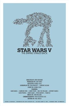 Star Wars Movie Poster: The Empire Strikes Back