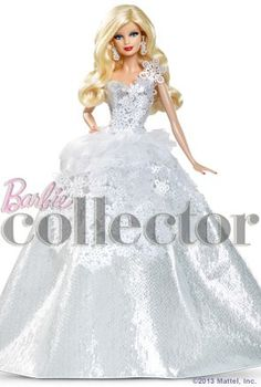 2013 Holiday Barbie™ doll (X8271)    Designer: Judy Choi Release: August 2013