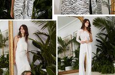 Carla Zampatti white trousers & top