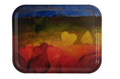 Tray Valentines Day Design Carina Flodin size 36 x 28 cm made from nordic birch veener, dishwasher safe
