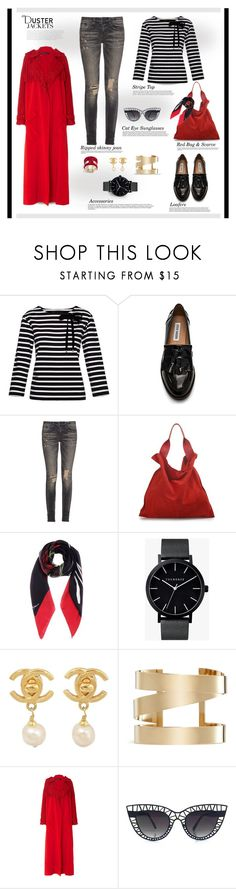 """So Cute: Duster Jackets..."" by unamiradaatuarmario ❤ liked on Polyvore featuring Balmain, Marc by Marc Jacobs, Steve Madden, R13, Jil Sander, Dolce&Gabbana, The Horse, Chanel, Isabel Marant and Sally Lapointe"