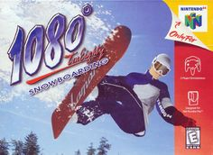 1080 Snowboarding. Played this game all the time with my cousin Josh. He was better at doing 1080's but I had a few tricks up my sleeve.