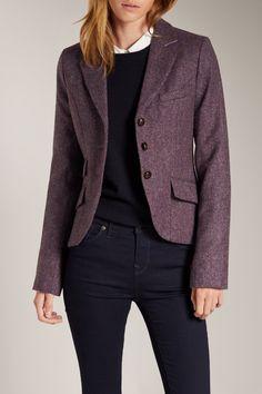 Austerberry Blazer -> http://wills.ly/1pNVT9k  #blazer #autumn #british