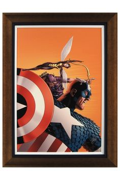 """Avengers 77 Custom Framed Limited Edition Signed by Stan Lee - 25"""" x 33"""""""