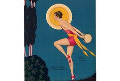 Art Deco Portrait of a Dancer on OneKingsLane.com