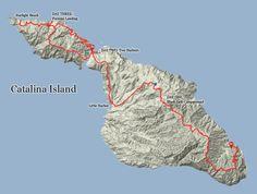 The Trans-Catalina Trail - 37.2 miles, Catalina Island