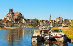 Beautiful Burgundy river