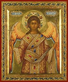 Religious Icons, Religious Art, Archangel Raphael, Raphael Angel, Madonna Art, Russian Icons, Religious Paintings, Byzantine Icons, Principles Of Art