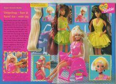barbie-journale - frühjahr 1995