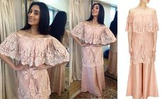 GET THIS LOOK  Pernia Qureshi spotted in an elegant Rose blush chantility lace kurta with palazzo pants by Payal singhal at Jaanisaar movie promotions.  Shop this look: http://www.perniaspopupshop.com/designers/payal-singhal  #Perniaqureshi #celebritystyle #payalsinghal #blushpink #lace