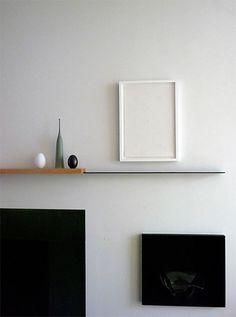 A Clever Split Two-Tone Shelf W Still Life