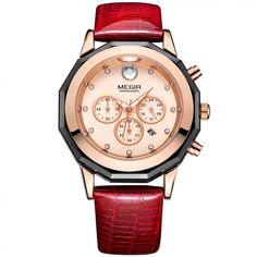 Megir Watch Gold Women Watches 2018 Chronograph Sport Clock Women Watches With Diamonds Luxurious Ladies Watch With Rhinestones  Price: 419.61 & FREE Shipping  #fashion|#sport|#tech|#lifestyle