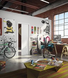 Unico by Eclisse Interior Design And Build, Sliding Pocket Doors, Palette, Loft, Internal Doors, Deco, Building, House, Salon Design