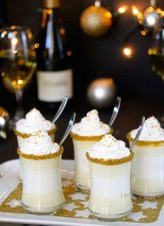 Chardonnay Chantilly Cream Dessert made with Cambria Katherine's Vineyard Chardonnay