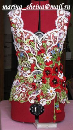 elbise örgü modelleri ve yapılışları