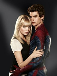 peter parker and gwen stacy | emma stone peter parker gwen stacy andrew garfield the amazing ...