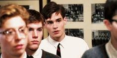 That magic spark: when a student comes alive. Robert Sean Leonard as Neil Perry in Dead Poets Society