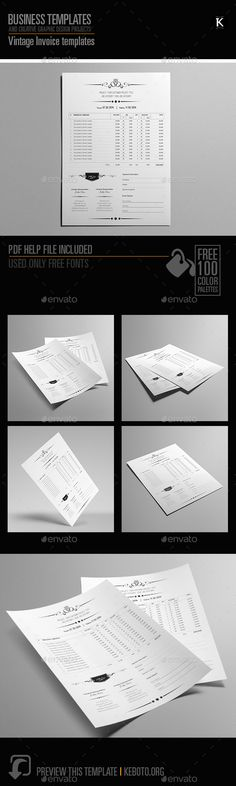 Blue Boxed Invoice Template Word Invoice Templates Pinterest - microsoft office bill of sale template