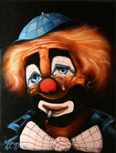 Joker Clown, Le Clown, Clown Faces, Circus Clown, Evil Clowns, Scary Clowns, Samba, Types Of Clowns, Emmett Kelly Clown