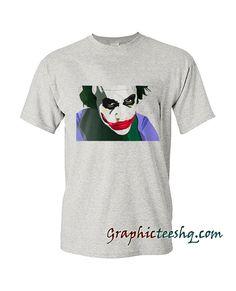 Joker Portrait-The Dark Knigh Tee Shirt