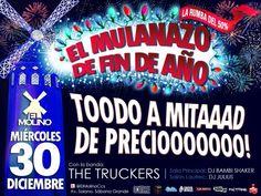 """El Molino presenta: """"El Mulanazo de Fin de Año"""" http://crestametalica.com/events/el-molino-presenta-el-mulanazo-de-fin-de-ano/ vía @crestametalica"""