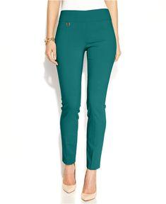 5b462565cc1 Urban Teal Alfani Tummy-Control Skinny Pants