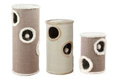 Multi-level Modern Cat Condos from Trixie Pet Products