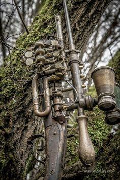 Steampunk Artwork: Steampunk Shooting - Hunting