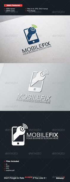 Buy Mobile Fix Logo Template by fitranoor on GraphicRiver. Mobile Fix Logo Template is an excellent logo template suitable for Mobile Related company. Gadgets And Gizmos Vbs, Cheap Gadgets, Gadgets Shop, Electronics Gadgets, Mobile Phone Logo, Typography Logo, Logos, Cell Phone Contract, Business Slogans