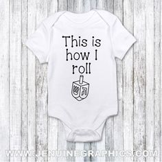 Baby first chanukah gift funny hanukkah onesie jewish baby gift baby first chanukah gift funny hanukkah bodysuit jewish baby gift hannukah idea jenuine graphics montreal negle Images