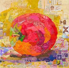 Elizabeth St. Hilaire Nelson is traveling to the Lone Star State to share her unique collage technique she has termed Paper Paintings. In this