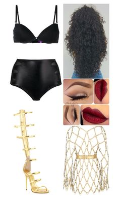 """Xmas Festival: December 14"" by allison-syko ❤ liked on Polyvore featuring Giuseppe Zanotti, Maison Close and Zana Bayne"