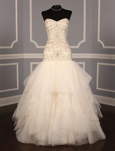 Kenneth Pool Genevieve K444 Discount Designer Wedding Dress