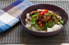 Filipino Adobo Pepper Steak with Okra and Carrots.