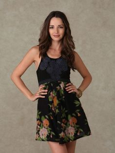 Perfect Spring into Summer Dress!  New with Tags Free People Dreamy Floral Patchwork Dress Black Comb Beads $99.99 http://fb.me/DWCEAvWn