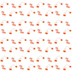 FREE digital red tea time scrapbooking paper: printable tea time DIY wrapping paper