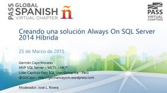 Creando una solución Always On SQL Server 2014 Híbrida