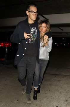 [05/04/13] LLegando a Arclight Theater con Chris French.