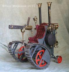 Steampunk.