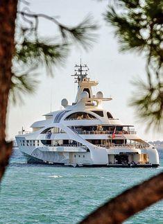 "Blohm + Voss 96m motor yacht, ""Palladium"" #megayacht"