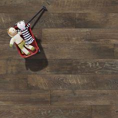 Mannington Restoration Collection® 6'' x 51'' x 12mm Oak Laminate Flooring & Reviews   Wayfair Wide Plank Laminate Flooring, Composite Flooring, Luxury Vinyl Tile, Luxury Vinyl Plank, Mannington Adura, French Cottage Style, Stucco Colors, Vinyl Tiles, How To Distress Wood